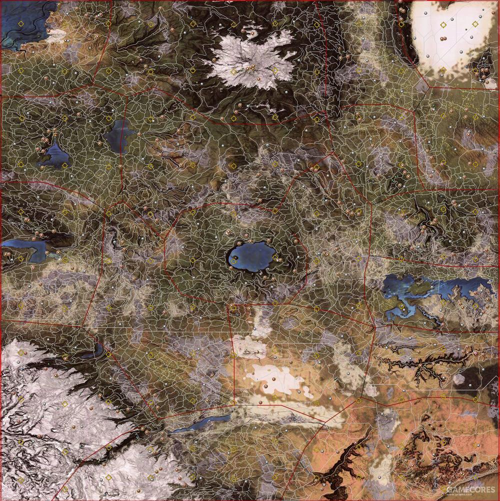 荒野的地图布局类似FUEL