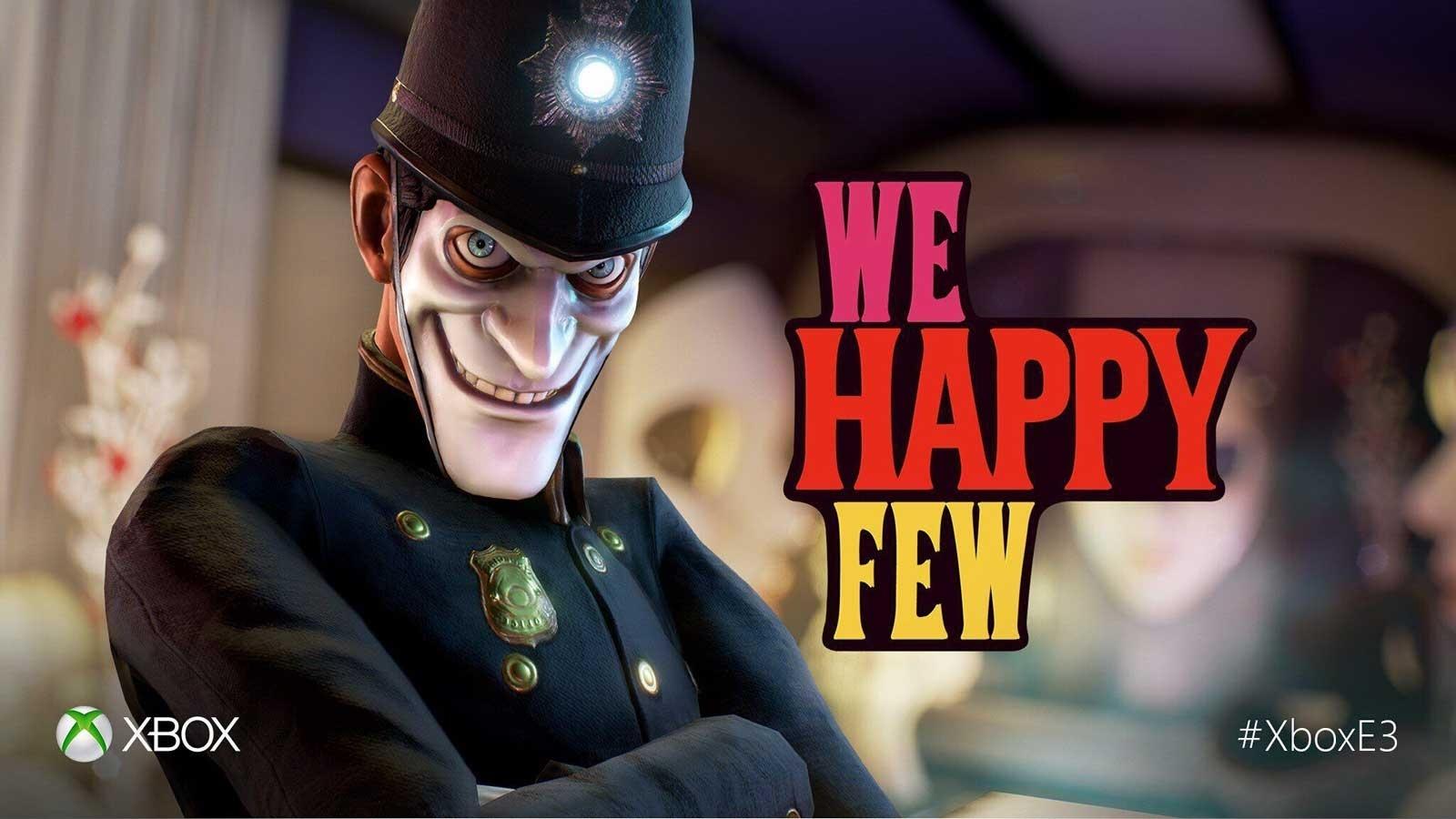 獵奇遊戲《WE HAPPY FEW》公佈發售日