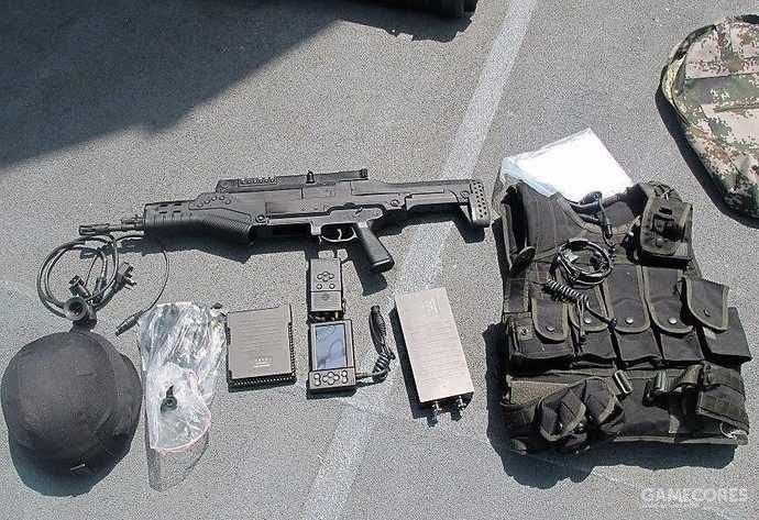 11式单兵武器,它的图片非常少见