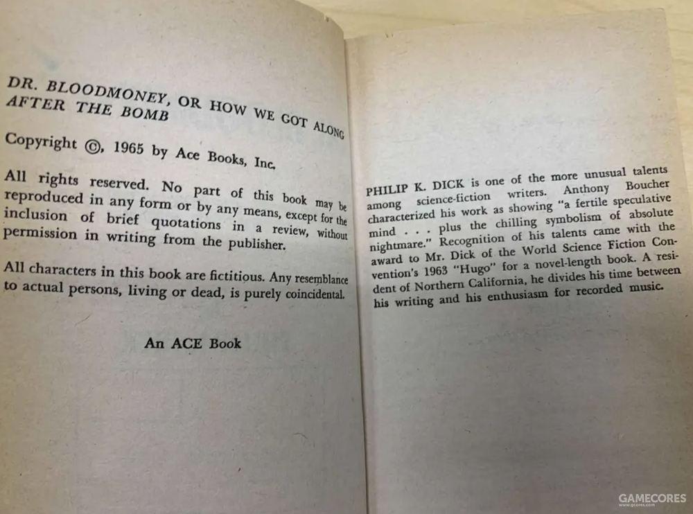 版权页,Ace很懒,甚至没有注明是1976年重印