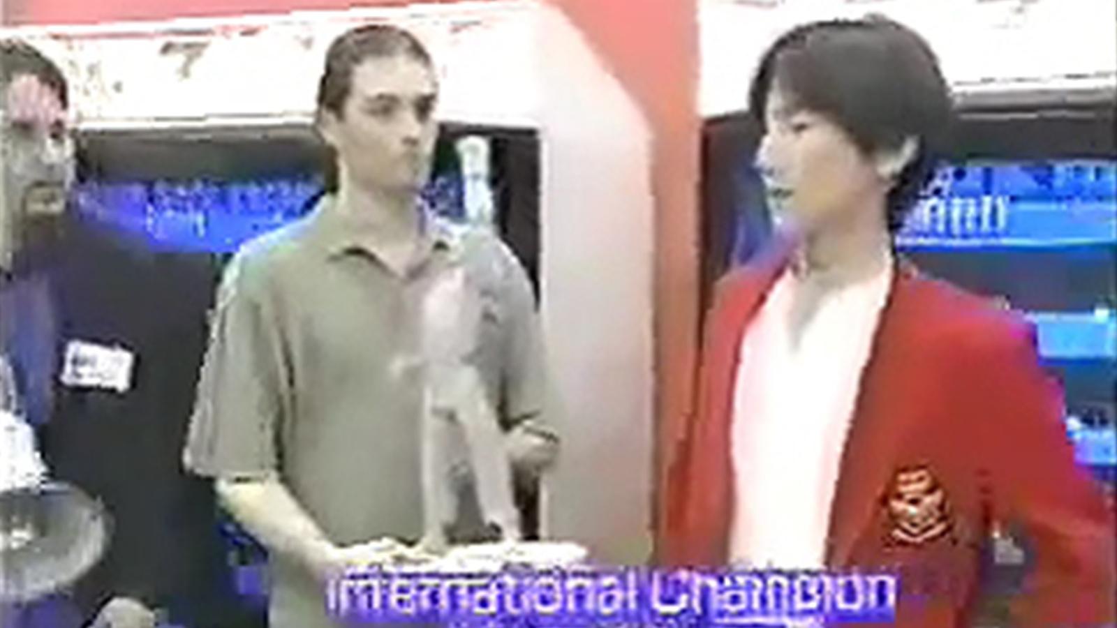 早在20年前,梅原大吾就遠征美國並斬獲人生中第一個世界冠軍