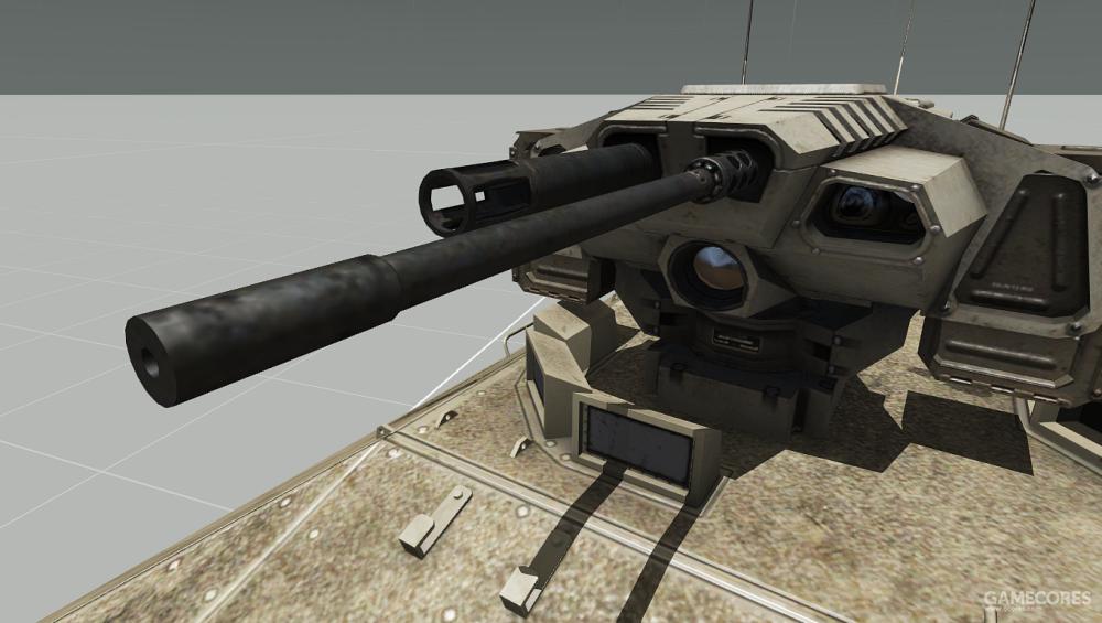 IFV-6的重机枪