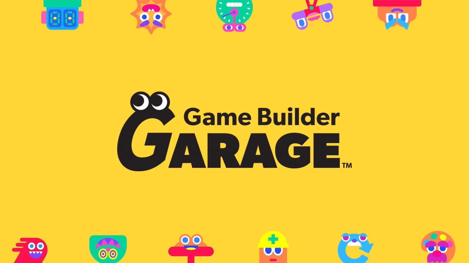 通过玩游戏,学做游戏。任天堂公布《Game Builder Garage》