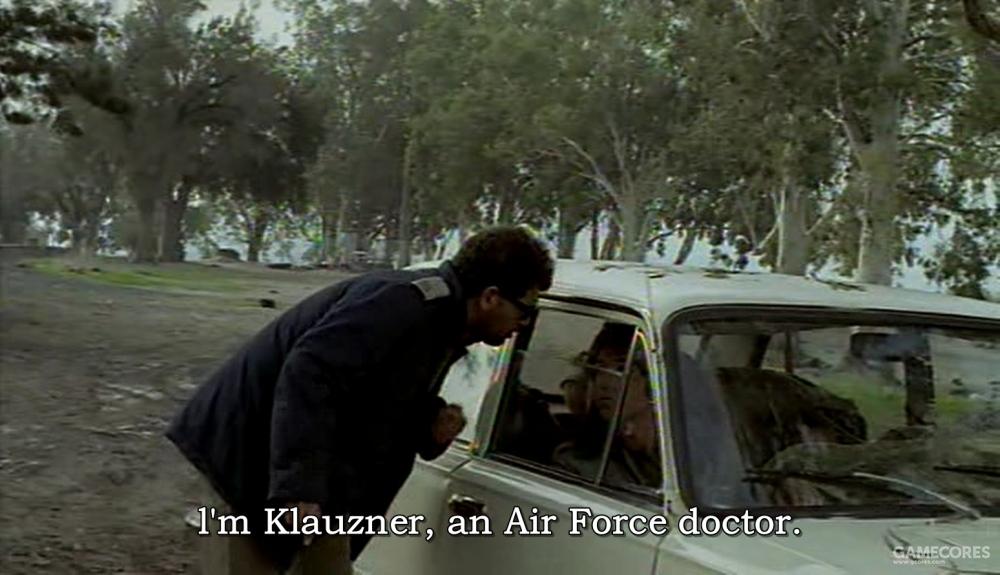 空军的克劳兹纳医生找到了车里的二人,他们有了上前线的机会