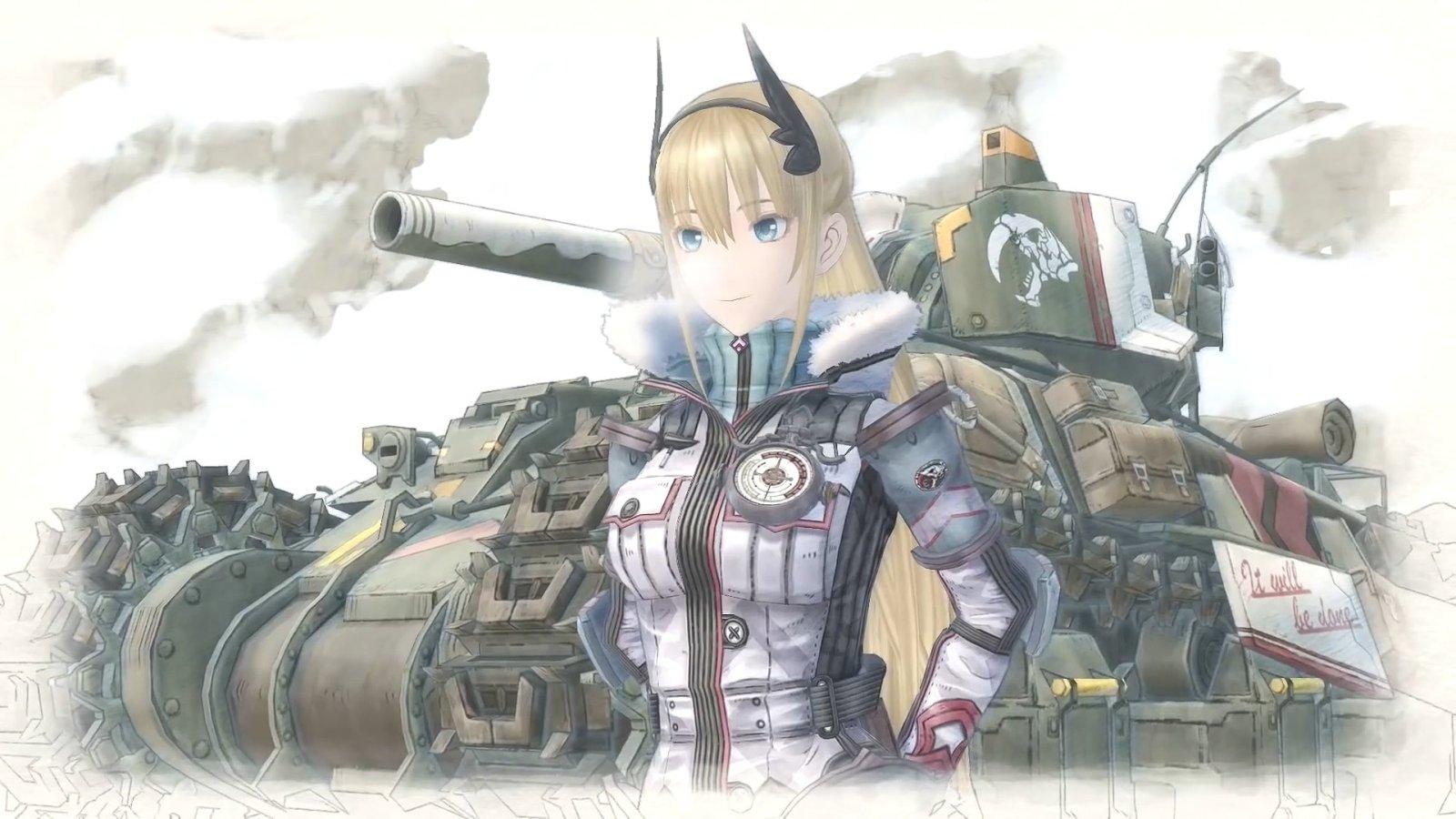 NS中文版9月27日发售,《战场女武神4》NS版预告公开