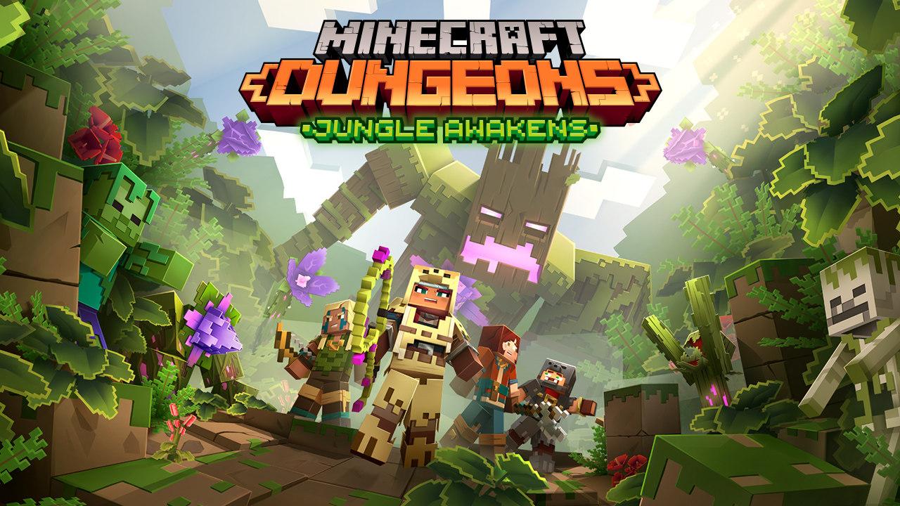 《我的世界:地下城》首个DLC《Jungle Awakens》将在7月发布