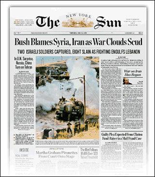 """《纽约太阳报》是美国第一份成功的按商业原则创办的商业报纸。也是第一份报价便宜的""""便士报""""。《纽约太阳报》旨在抓住下层民众的兴趣,刊登的主要是自杀、犯罪、审判、失火等社会新闻。"""