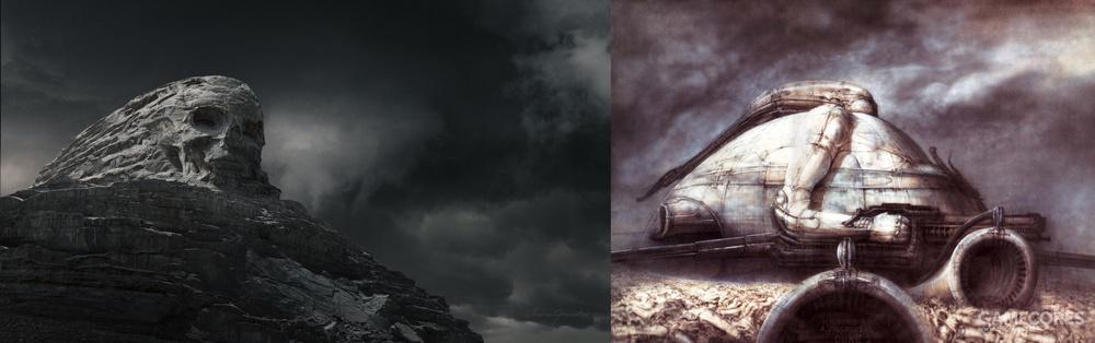 《普罗米修斯》-《DISTANT FUTURE MONTH#5:Necronomicon》