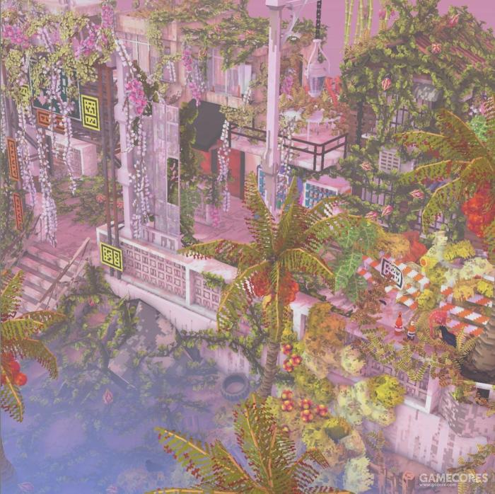 《Cloud Gardens》:打造属于你的废土箱庭