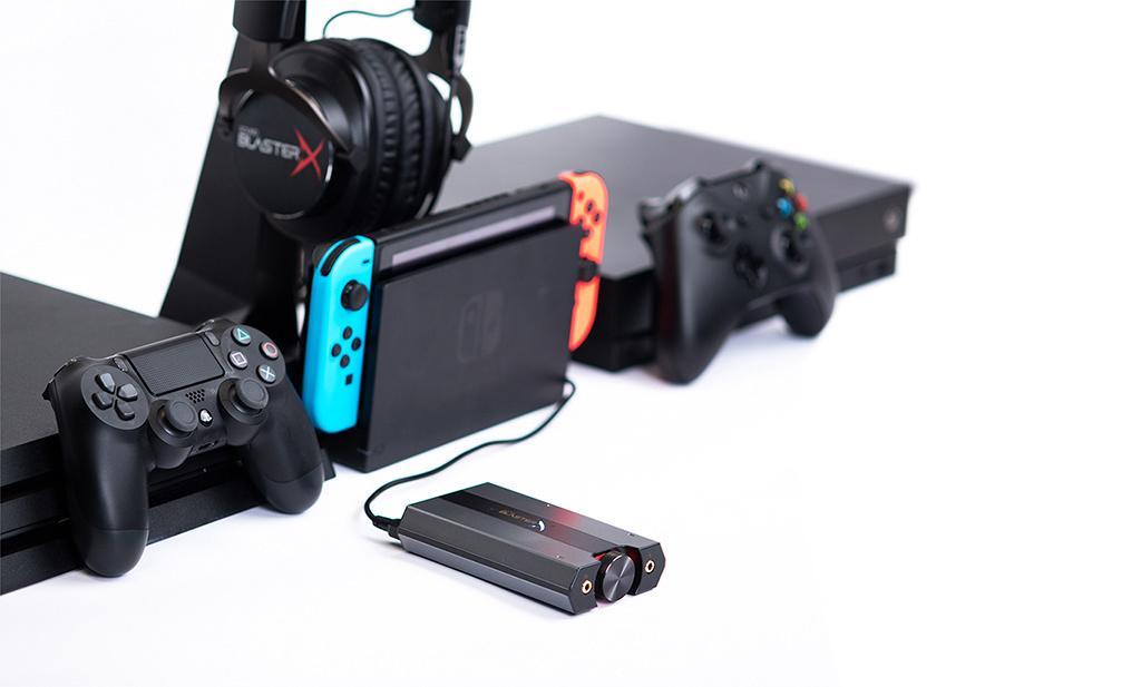 創新公司將發售支持直連Switch的便攜USB聲卡『Sound BlasterX G6』