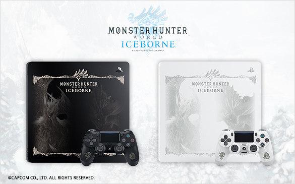 PlayStation推出《MHW:ICEBORNE》限定主机盖、手柄与无线音响,今日接受预定
