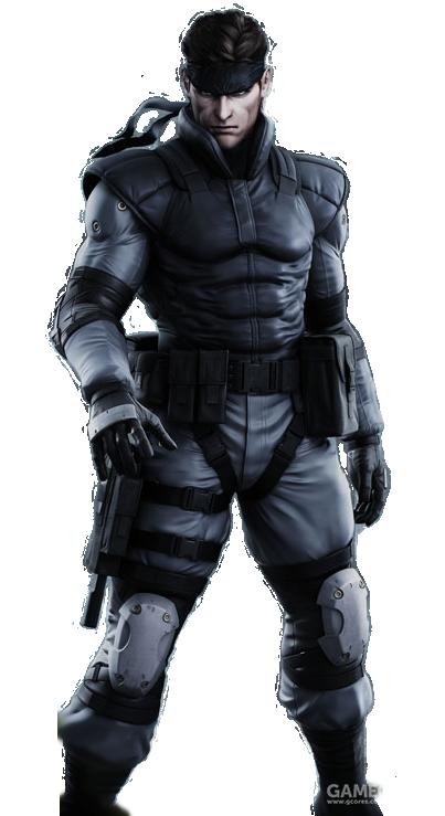 《潜龙谍影》(Solid Snake)