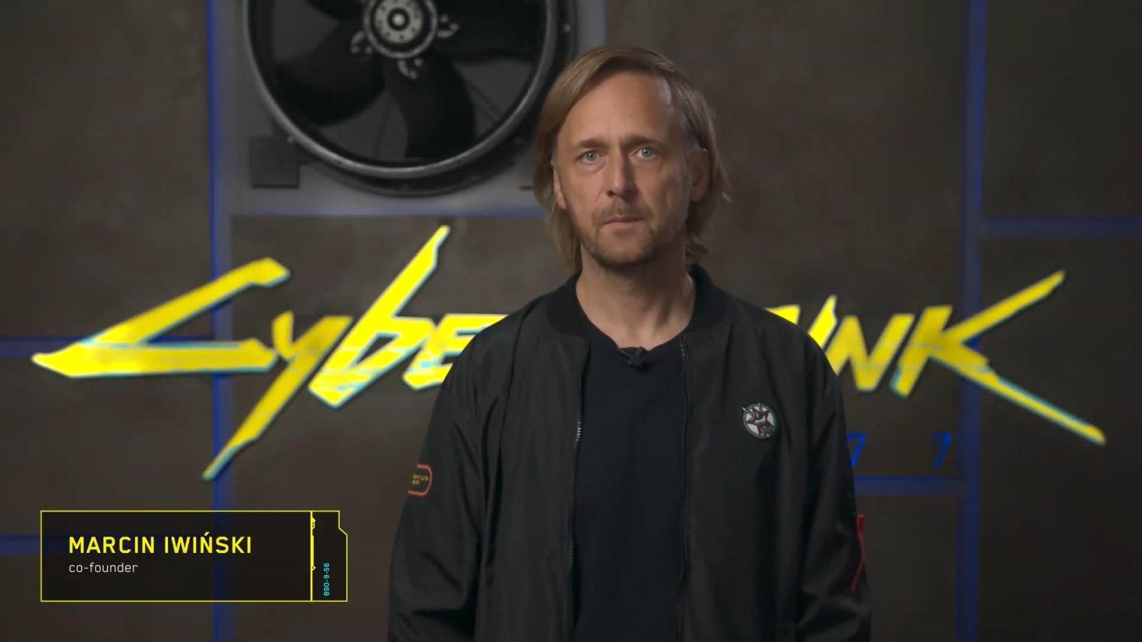 CD RPOJEKT联合创始人Marcin Iwiński发布《赛博朋克2077》情况说明视频