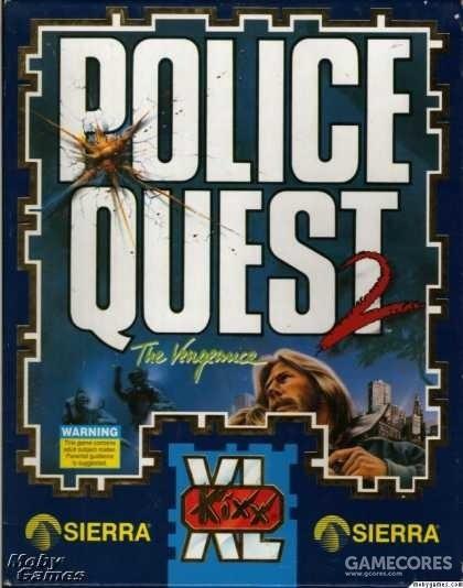 Police Quest II: The Vengeance(Sierra,1988)