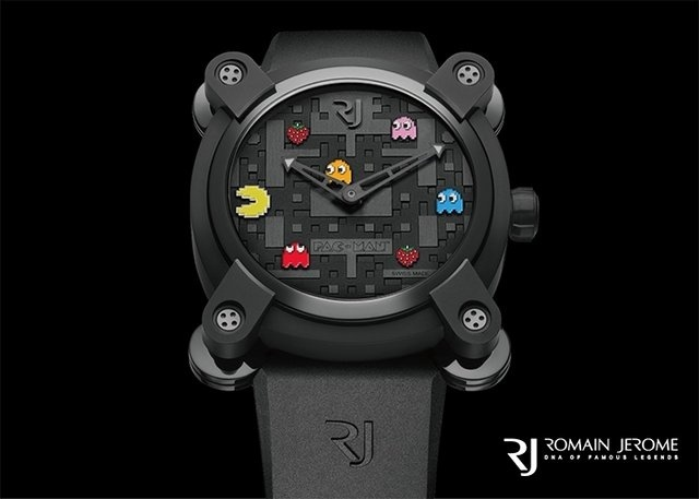 來塊《吃豆人》的限量手錶麼?