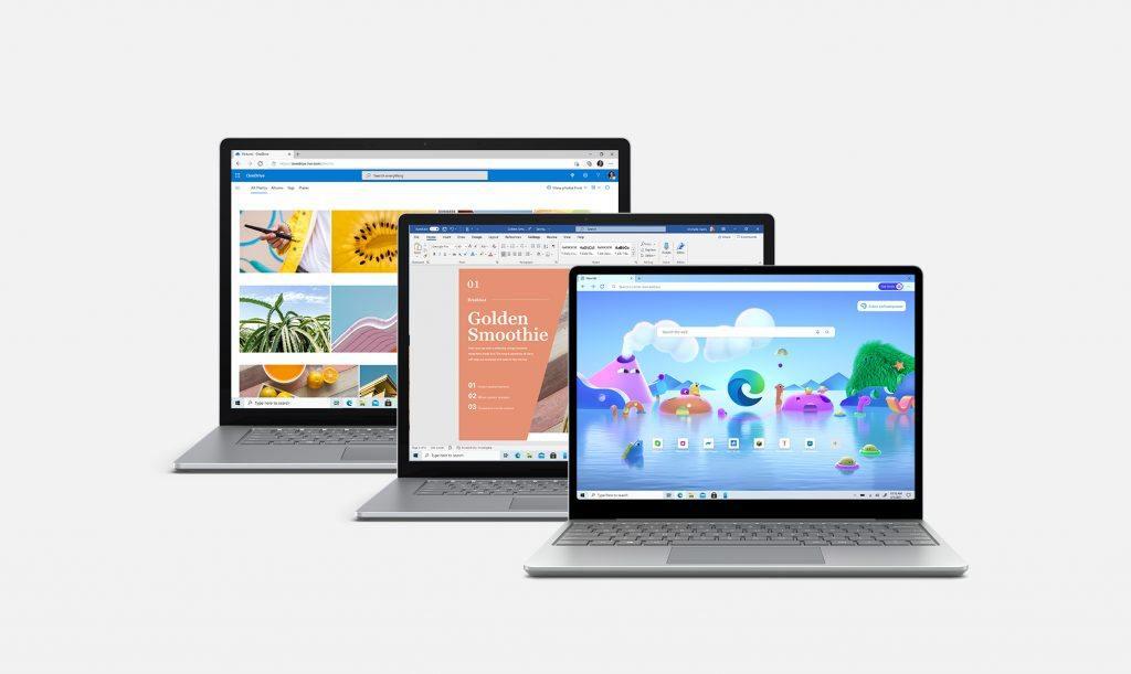 微软发布全新 Surface Laptop 4