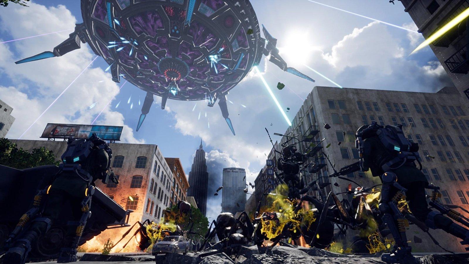 射爆大虫子,《地球防卫军:铁雨》繁体中文版确定4月11日全世界同步发售