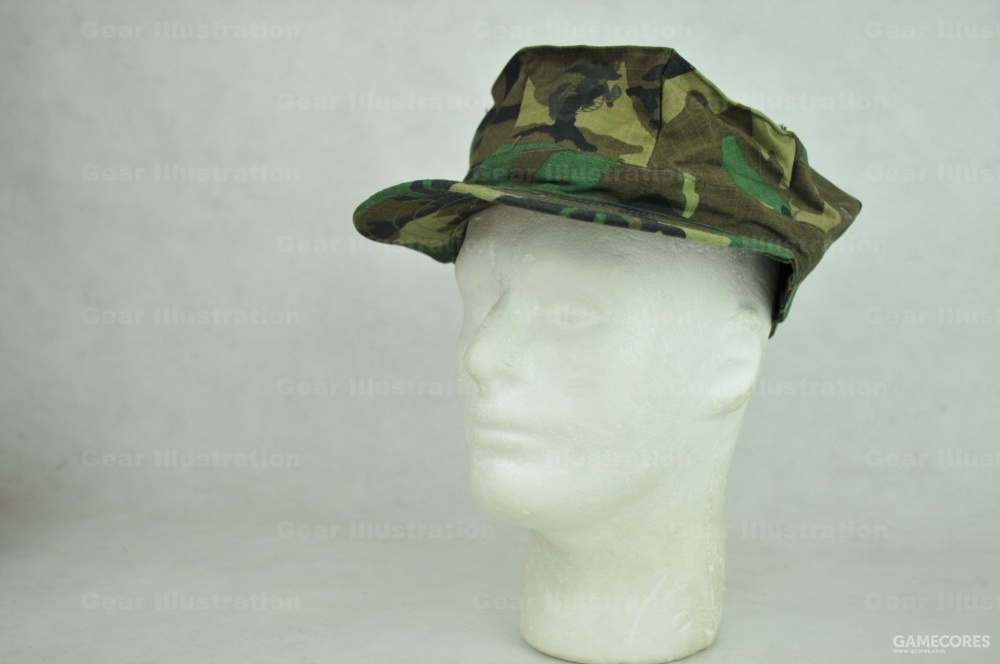 RDF后期型迷彩八角帽