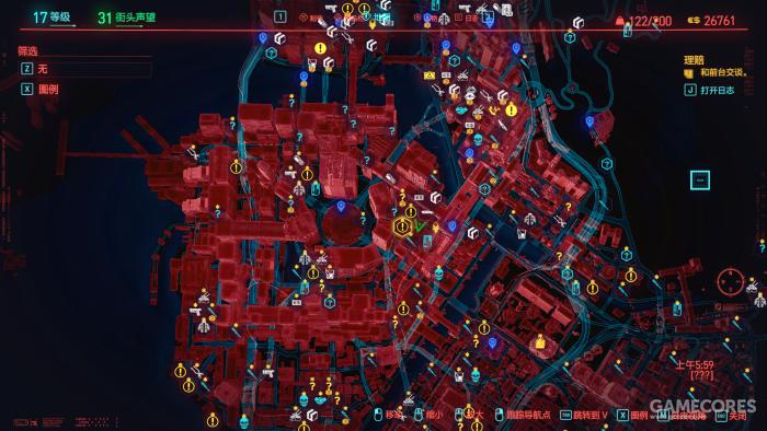 夜之城确实有很多委托和一些商店...除此之外就没有可互动的东西了