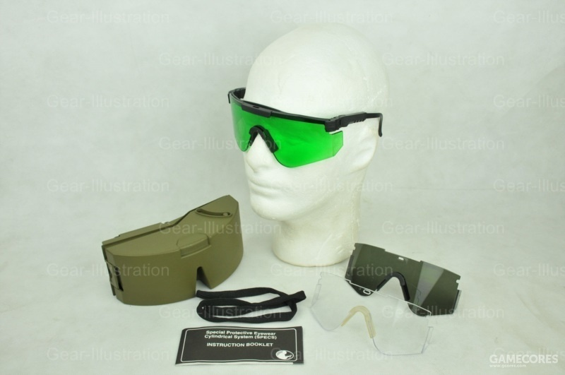 Special Protective Eyewear, Cylindrical System / SPECS