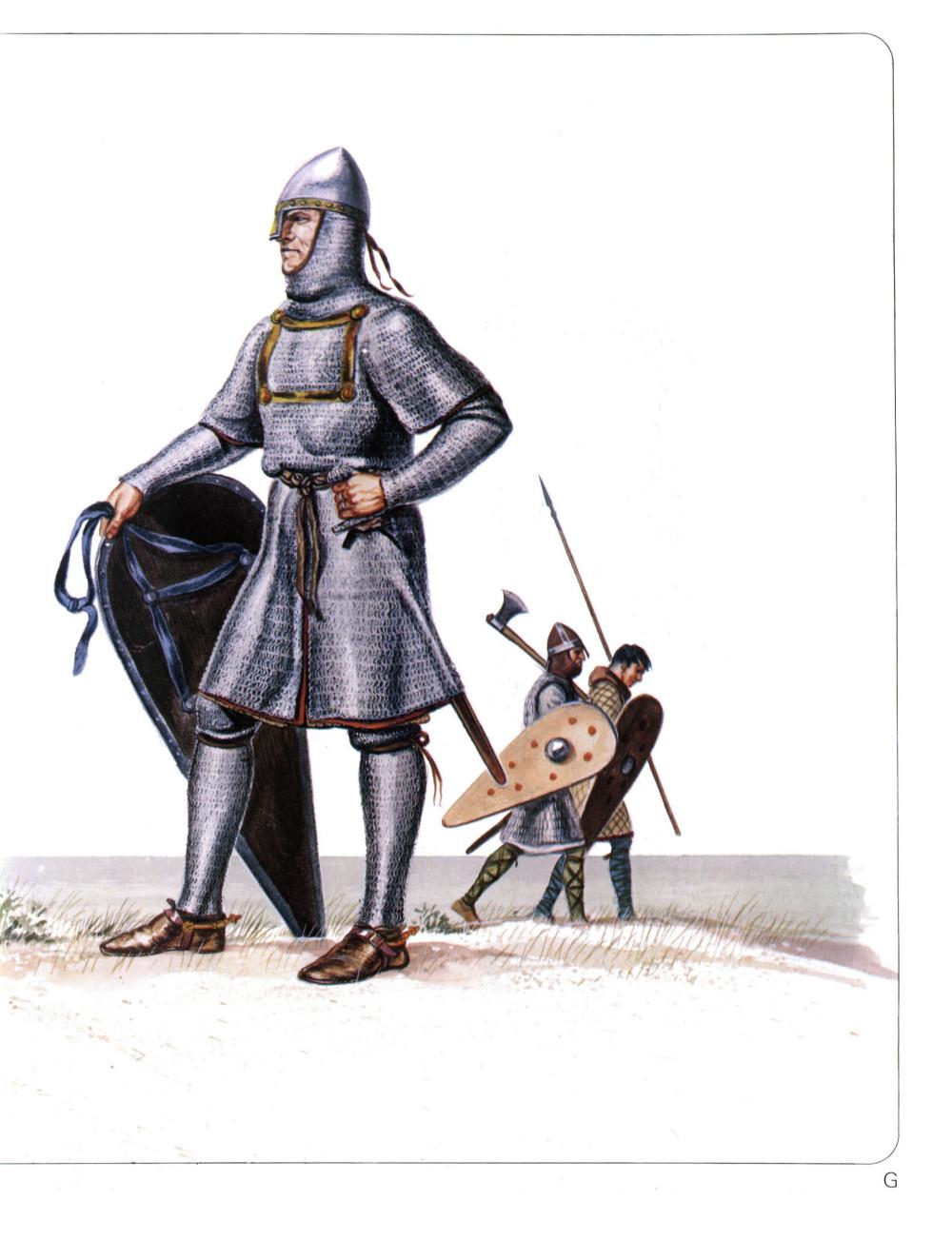 使用风筝盾的骑士