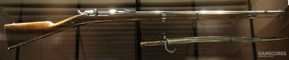 夏斯波1866步枪,具有更好的气密性