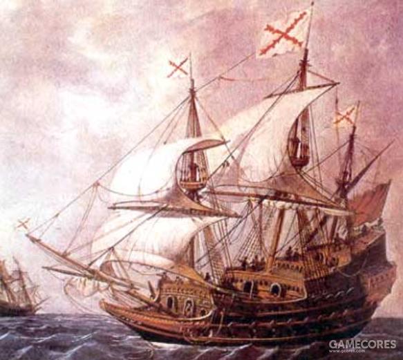卡斯蒂利亚的盖伦船可能是当时最先进的战舰