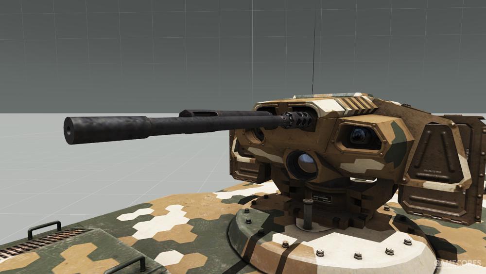 MSE-3的重机枪