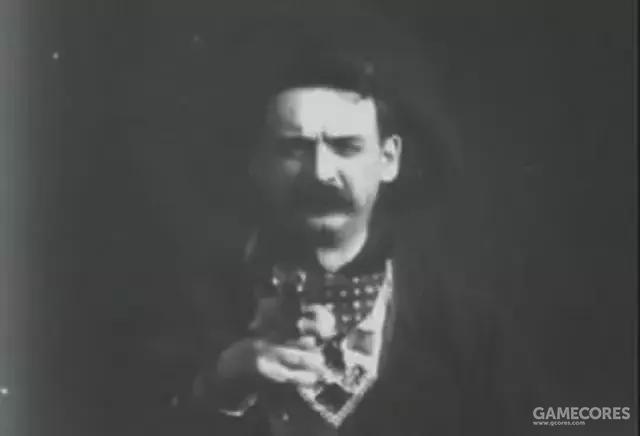 《火车大劫案》最著名的镜头,银幕上第一次出现真正的剪辑镜头