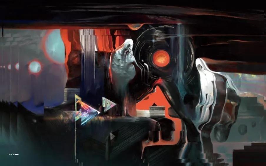 《三体艺术插画集》画展+签售,安排好了 | APSFcon日程