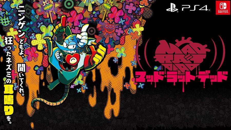 日本一公布新作《MAD RAT DEAD》,10月29日发售