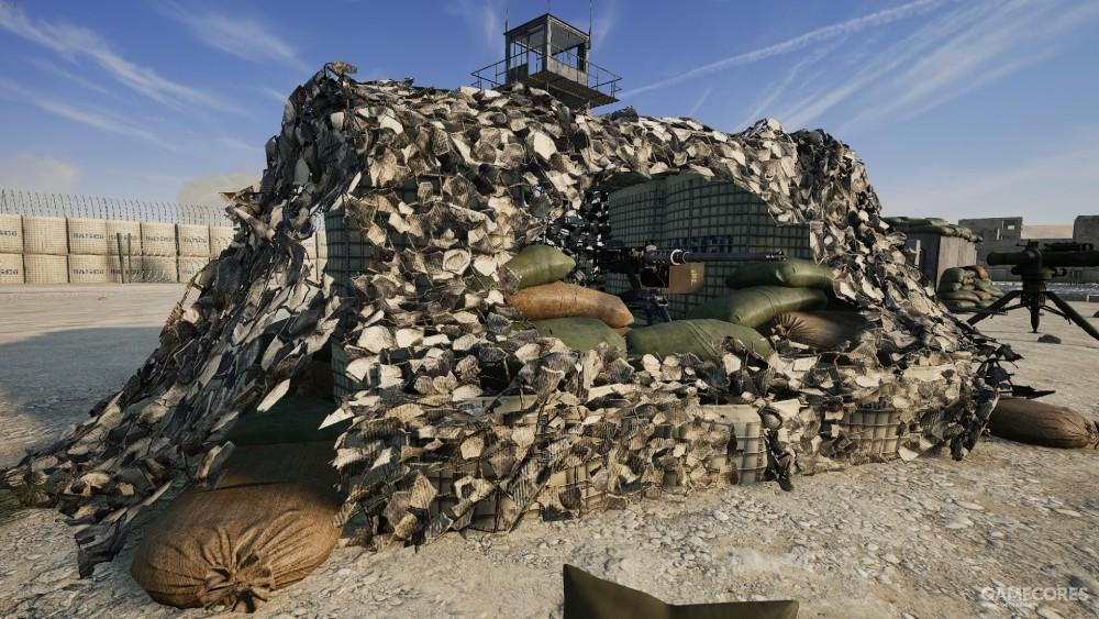 重机枪碉堡