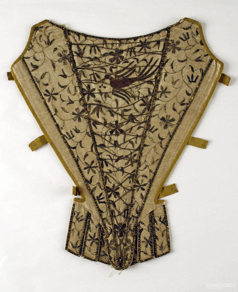 Stomacher, first third 18th century (MET