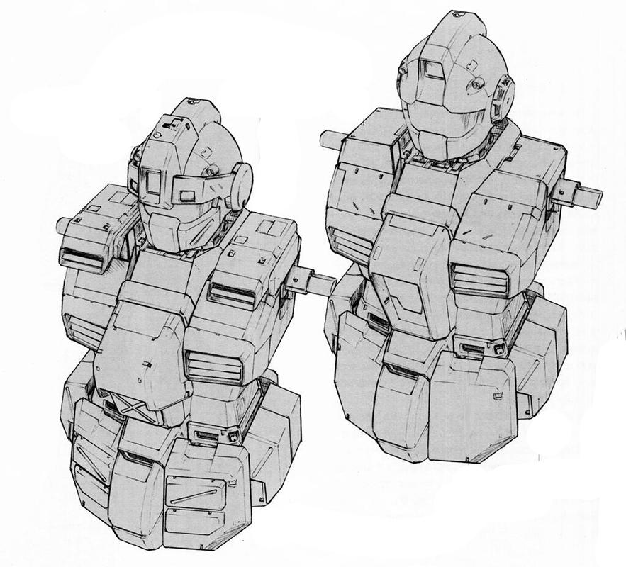 腰部的自然吸气式散热系统被保留。重装甲状态下,两肩部位追加了额外的吸/排气散热系统以进一步优化核融炉的工作稳定性。