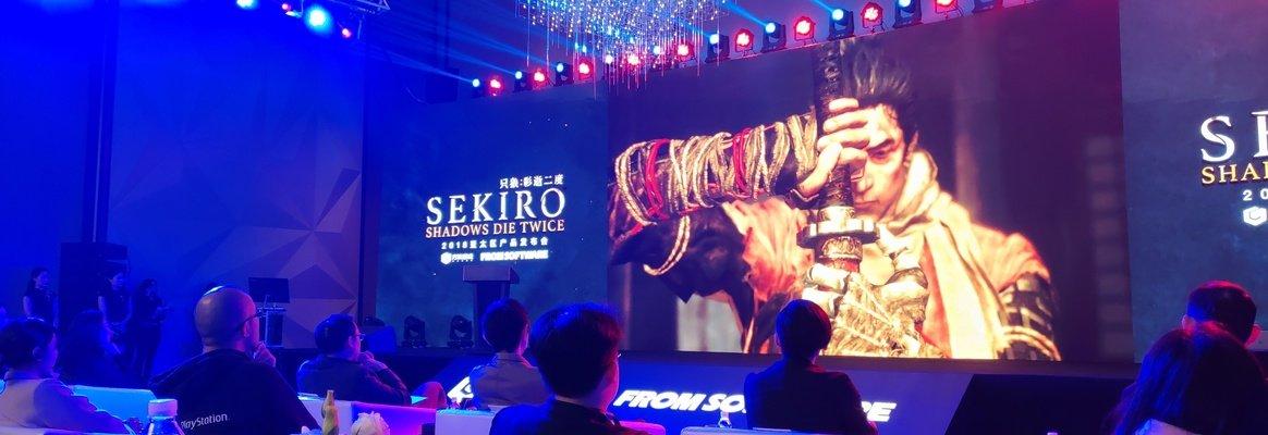 宫崎英高首次来到北京,出席《只狼:影逝二度》亚太地区发布会