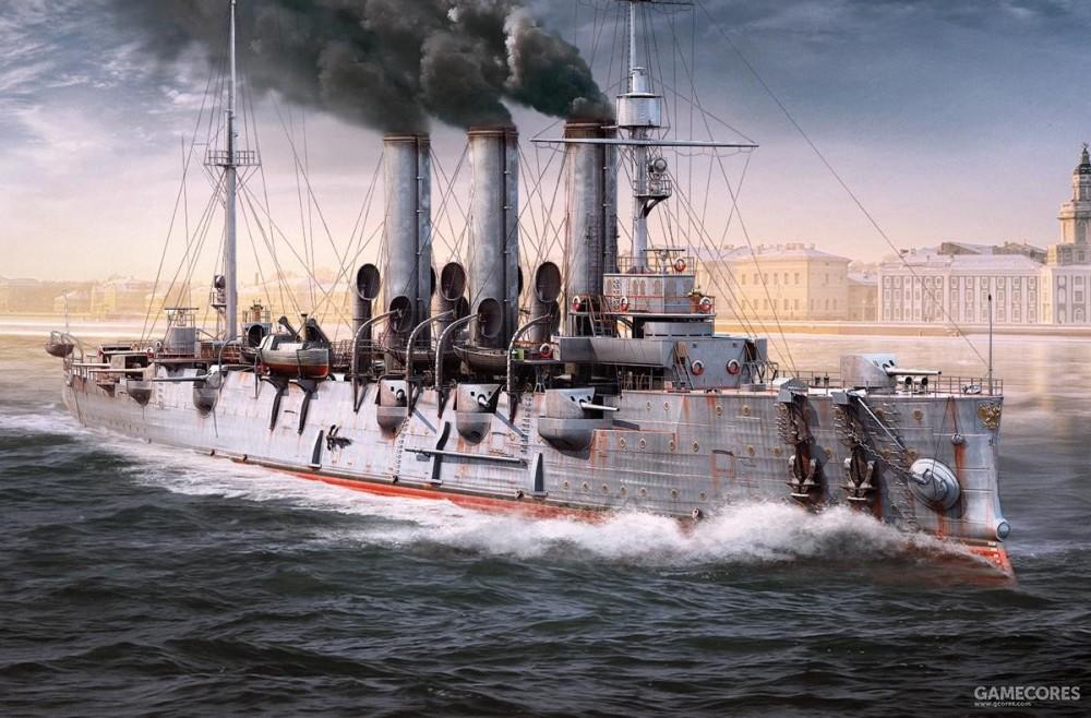 阿芙乐尔号巡洋舰,来源战舰世界