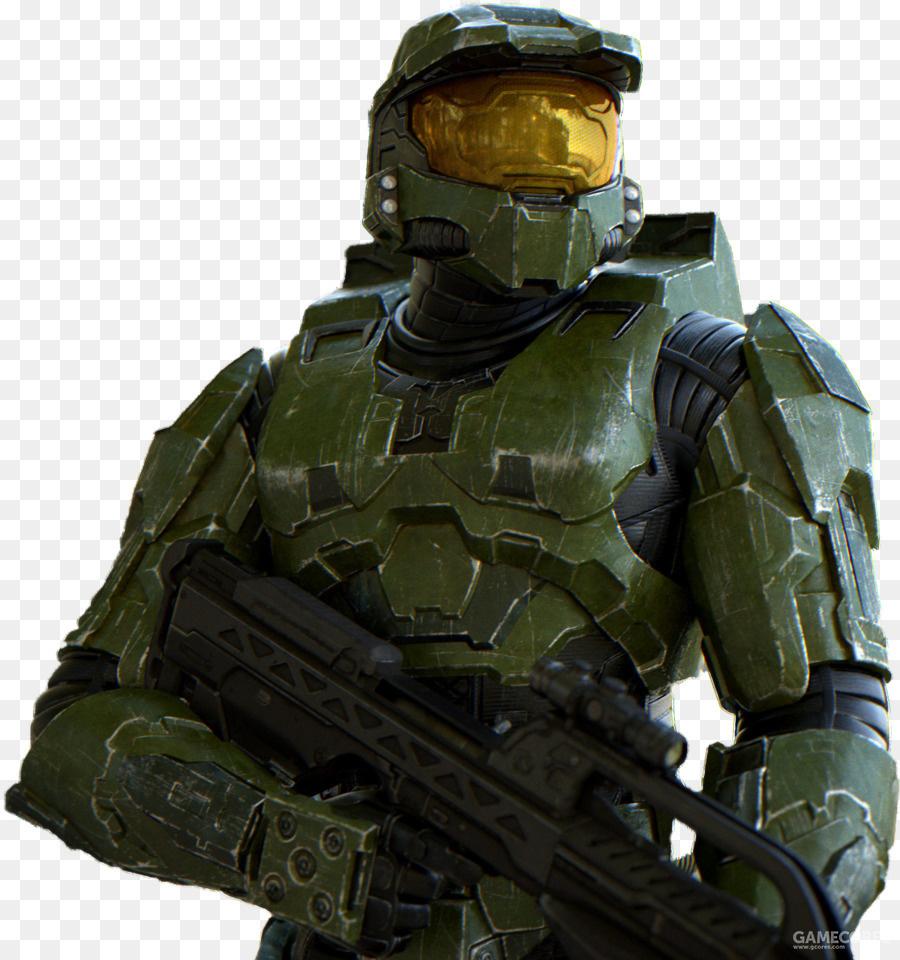 士官长的盔甲直到被Cotana在4代魔改之前一直都是非常平滑朴实的。