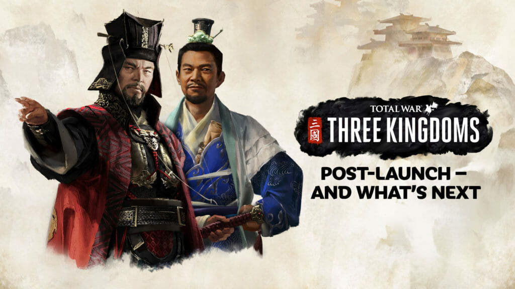CA 感谢中国玩家,宣布《全面战争:三国》创下系列预售记录
