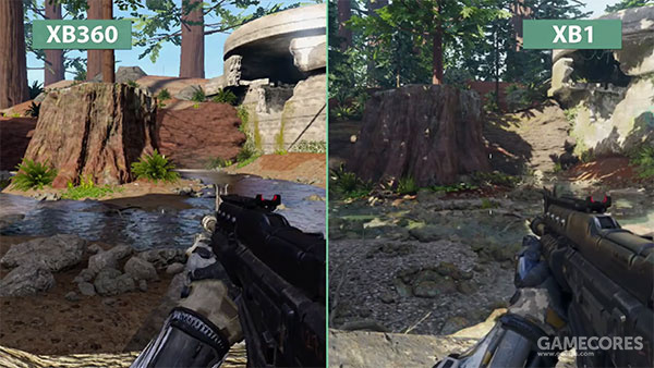 《使命召唤:黑色行动3》Xbox 360/Xbox One 双版本画面对比
