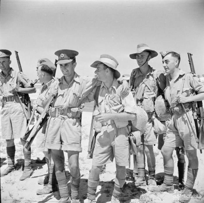 1942年的北非英军,照片来自WIKI