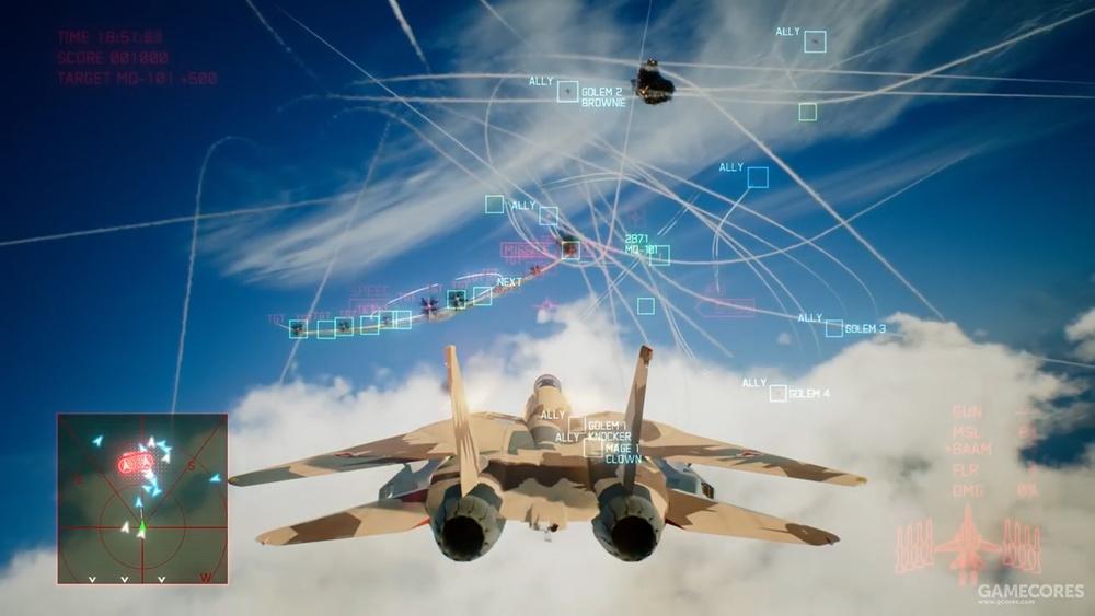 伊朗空军涂装F-14齐射8枚AIM120