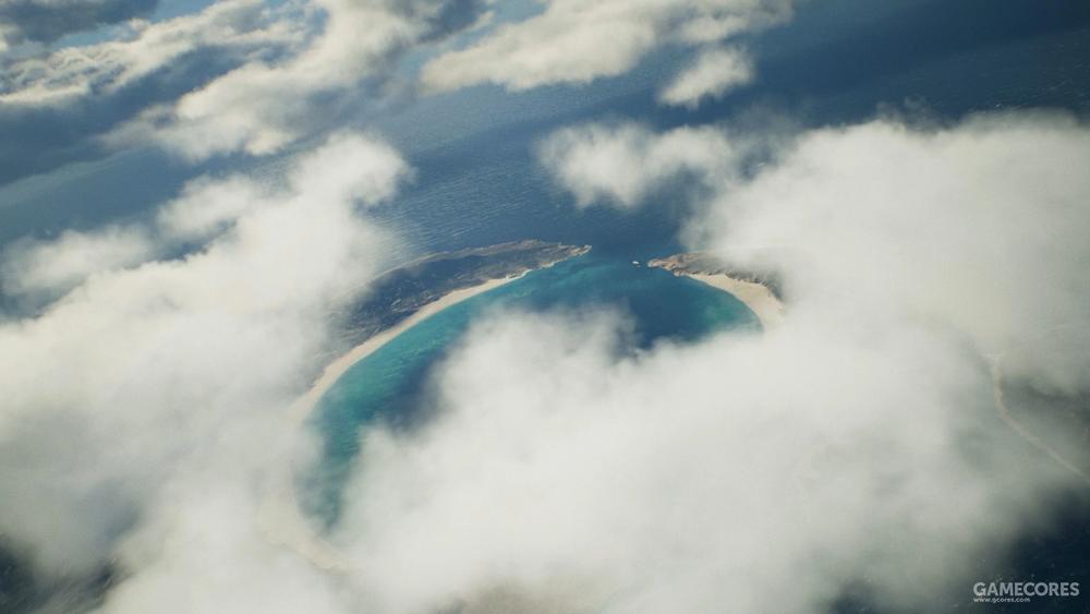 Newman陨石坑,位于大陆东南角的Fort Grey群岛,在这次7里第一关起飞后你就能见到
