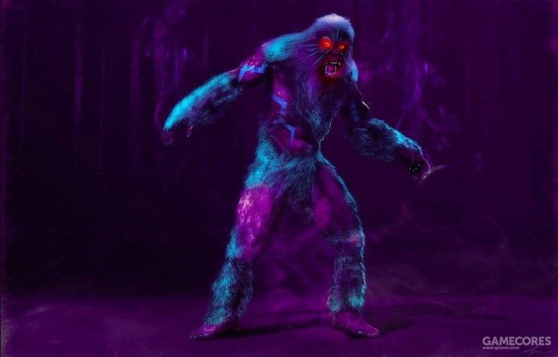 红眼猿人-锐舞状态