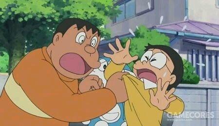 胖虎对大熊的欺负是《哆啦A梦》中常见的画面
