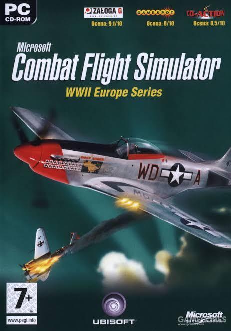 微软公司在《微软模拟飞行》之外,还开发了《微软战斗模拟飞行》这个衍生的系列,如今已经黑历史化了