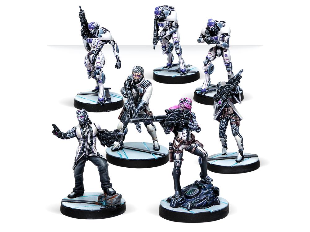 阿勒夫的部队中机器人是很常见的