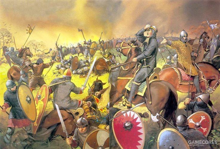 黑斯廷斯之战中,诺曼骑士击败了英格兰重步兵,几乎终结了欧洲的步兵时代
