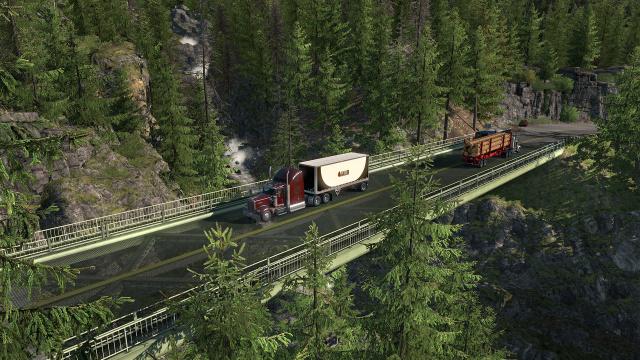 欢迎来到常青之州!《美国卡车模拟》华盛顿州DLC 已上线