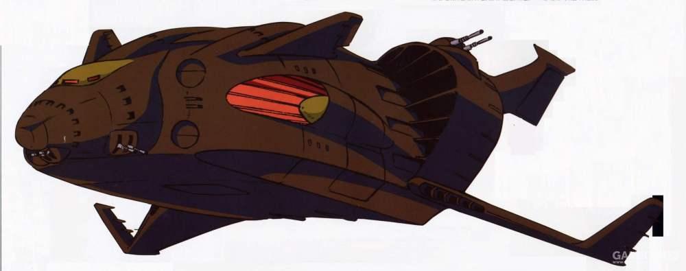 桑吉巴尔级是吉翁军少数不需要特殊准备就能进行大气层空降作战的舰艇。并且具备重力圈内的长航时飞行能力。属于吉翁军的重要舰型,只配备给各个重要部队。