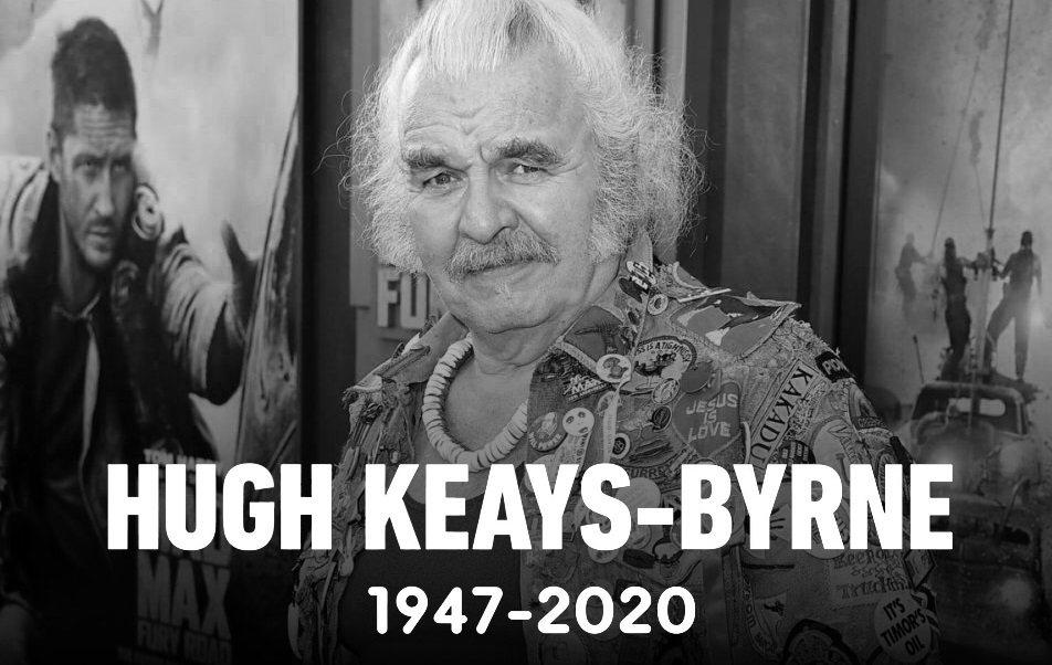 """《疯狂的麦克斯4:狂暴之路》""""不死老乔""""主演休·基斯-拜恩逝世,享年73岁"""